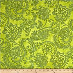 Anna Griffin Mirabelle Collection Gouache Paisley Green