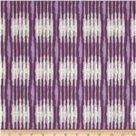 0277773 Boho Indian Stripe Eggplant