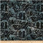 0273791 Artisan Batik: Lake Country Bears Lake