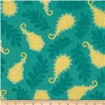 0272374 Summer House Paisley Teal