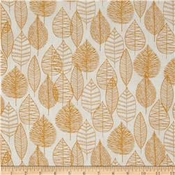 Bark & Branch Organic Line Leaf Gold