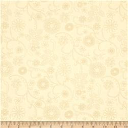 "110"" Wide Quilt Back Signature Cream"