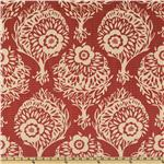Anna Maria Horner Innocent Crush Velveteen Woodcut Crimson