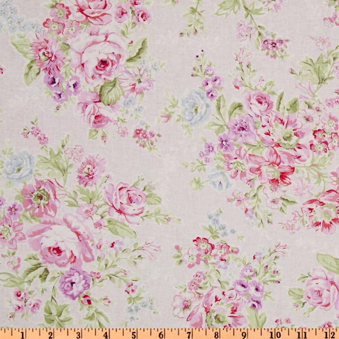Treasures by Shabby Chic Large Floral Pink