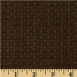 Moda Wool & Needle Flannel II Nubby Brown