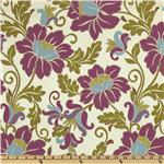 Richloom Alexia Floral Jacquard Orchid