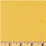 Gray Matters Small Ring Dot Yellow