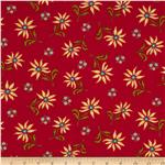 0272383 Summer House Floral Red