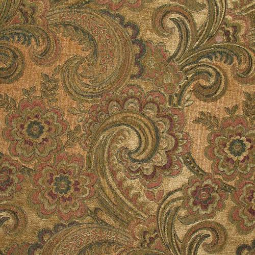 Chenille Fairfax Jacobean Woodland