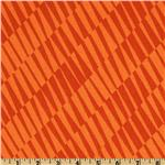 0262802 Mackinaw Island Geometric Orange
