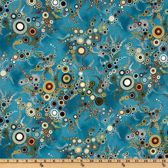 Effervescence Bubbles Blue