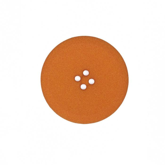 Fashion Button 1 3/8'' Kalamath Pumpkin
