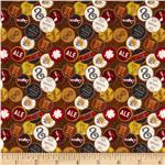 237468 Brewsky Bottle Caps Brown