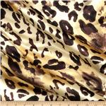 0278560 Satin Charmeuse Large Jaguar Gold