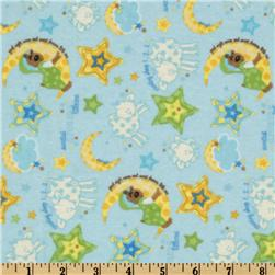 Alpine Sweet Lullaby Flannel Sweet Dreams Blue