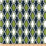 0267483 Ikebana Tiles-Medallions Green