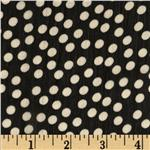 0282876 Blossom Chiffon Dots Black