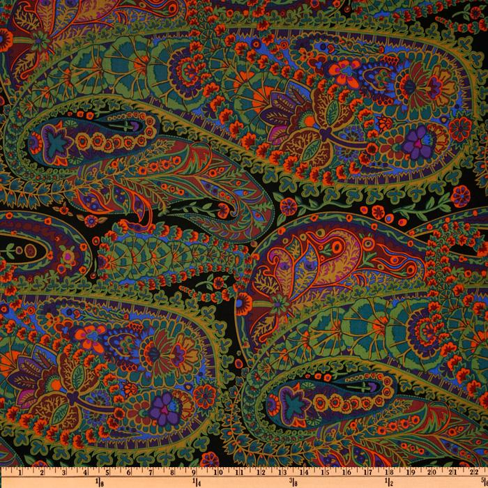 Kaffe Fassett Paisley Jungle Moss