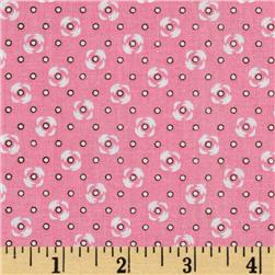 Rose Dots Pink/White