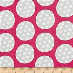 Precious Dots on Dots Pink/Grey