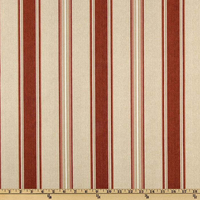 Bryant Indoor/Outdoor Beauville Stripe Burnt Orange