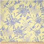 0278046 Flower Garden Two Tone Blue