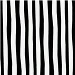 FI-009 Celebrate Seuss! Minky Cuddle Squiggle Stripe Black/White
