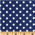 Brights & Pastels Basics Aspirin Dot Navy