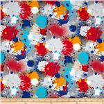 Paintball Splatter Grey/Multi