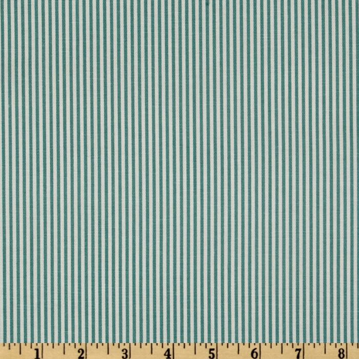 Magnolia Home Fashions Oxford Stripe Laguna