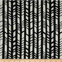 Indonesian Batiks Pop Art Bamboo Black