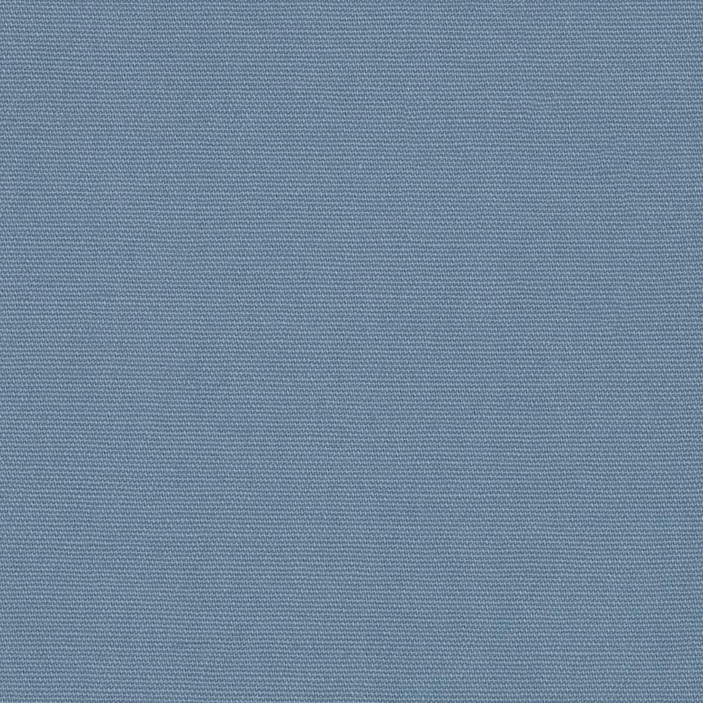 Stretch Cotton Twill Blue Steel