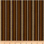 Wild Horses Stripe Brown