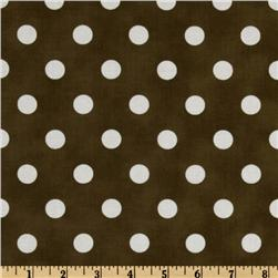 Moda Dottie (#45008-16) Brown/White