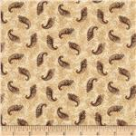 208094 Hampton Farm Paisley Cream/Brown
