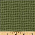 FA-960 Designer Essentials Designer Houndstooth Pebble Green