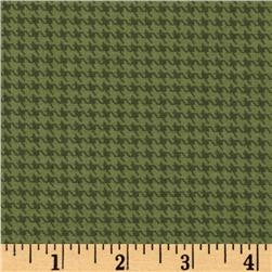 Designer Essentials Designer Houndstooth Pebble Green