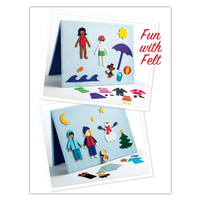 Kwik Sew Craft Fun with Felt (3858) Pattern