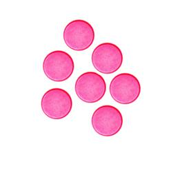 Fashion Button 1/4'' Mini Button Hot Pink