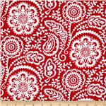 227989 Garden Party Wildflower Garden Red/White