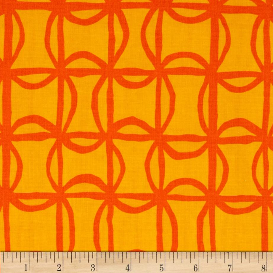 Kanvas Lilified Pin Wheel Gold/Orange
