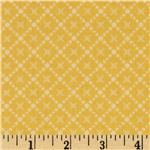 FI-696 Vintage Baby Star Diamond Yellow