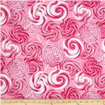 0279413 Kanvas Hugs And Kisses Swirl Lollipops Pink