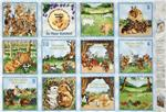 FC-491 So Many Bunnies Soft Book Panel Blue