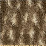 Faux Fur African Mongolian Fur Beige/Brown