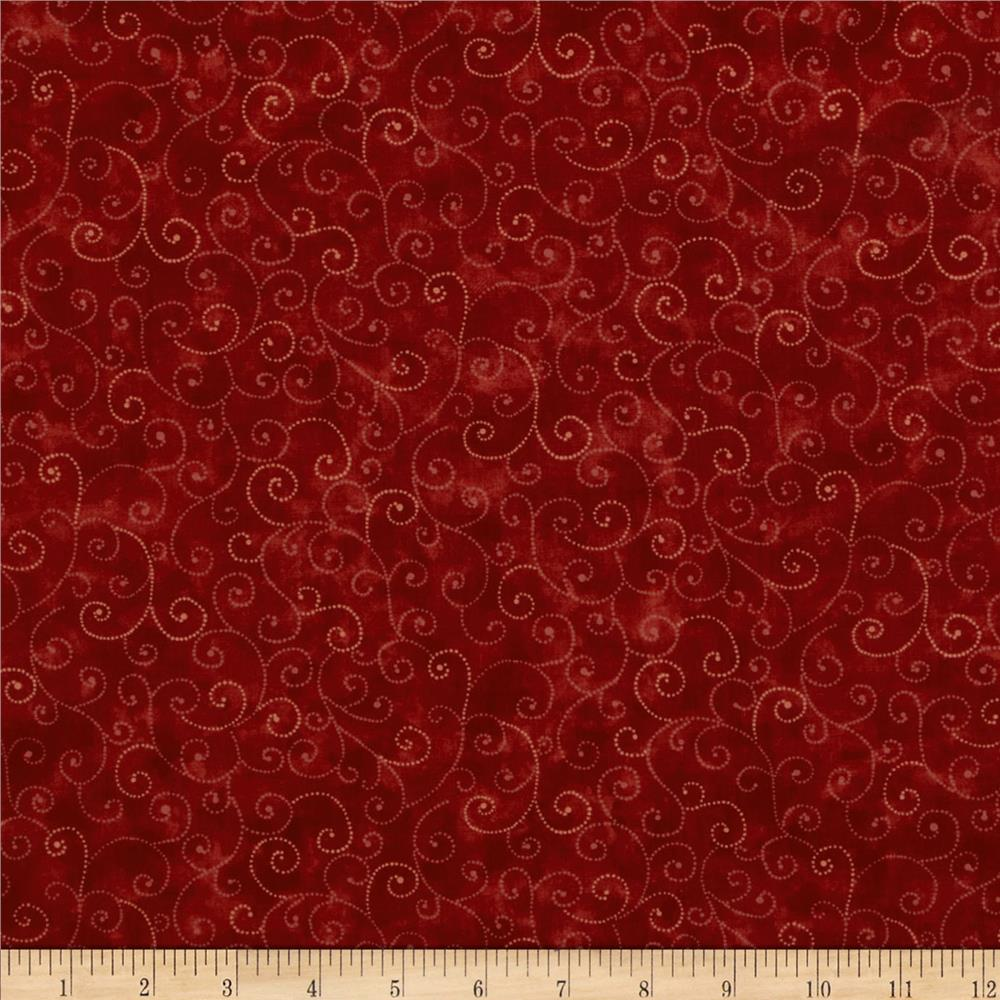 Moda Marble Swirls (9908-89) Cardinal