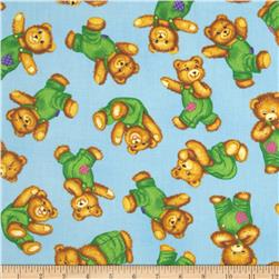 Corduroy Bear Tossed Bears Blue