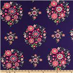 CN-367 Amy Butler Love Memento Midnight