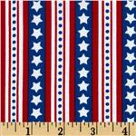 209960 Freedom Star Stripes Americana Blue