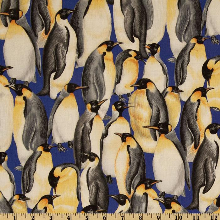 Living Wonders Penguins Blue/Black